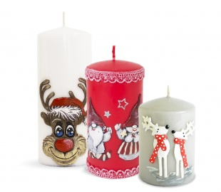 Candles Christmas Elegance Christmas