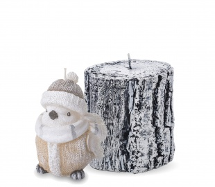 Christmas Candles Figurines